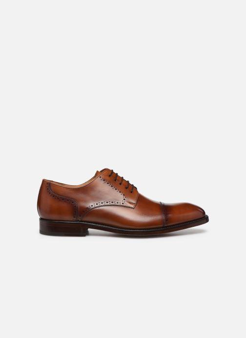 Chaussures à lacets Marvin&Co Luxe Cavendy - Cousu Goodyear Marron vue derrière