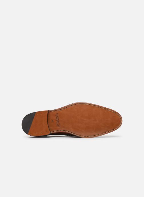 Chaussures à lacets Marvin&Co Luxe Cavendy - Cousu Goodyear Marron vue haut