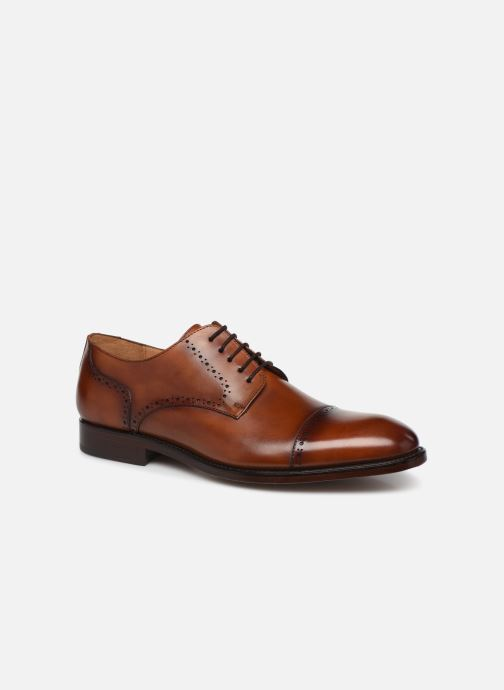 Lace-up shoes Marvin&Co Luxe Cavendy - Cousu Goodyear Brown detailed view/ Pair view