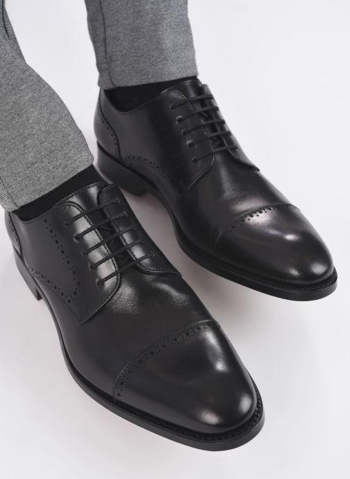 Zapatos con cordones Marvin&Co Luxe Cavendy - Cousu Goodyear Negro vista de abajo