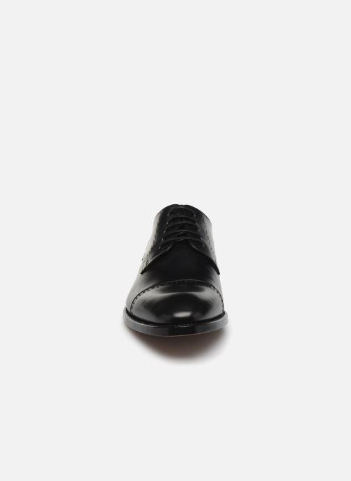 Zapatos con cordones Marvin&Co Luxe Cavendy - Cousu Goodyear Negro vista del modelo