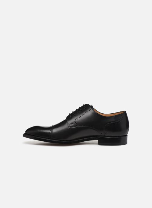 Lace-up shoes Marvin&Co Luxe Cavendy - Cousu Goodyear Black front view