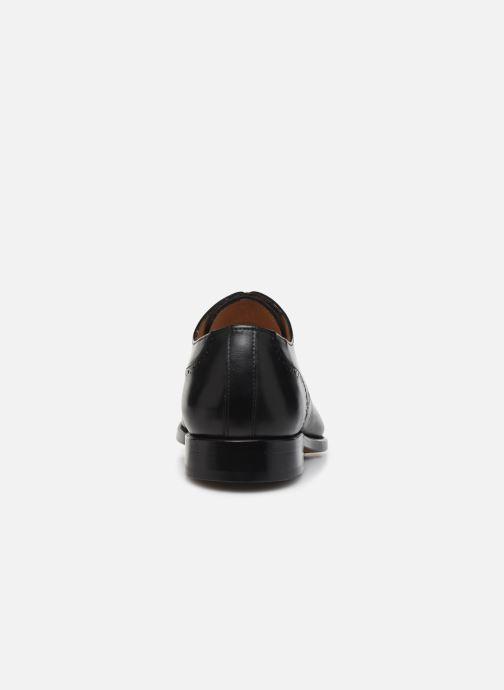 Scarpe con lacci Marvin&Co Luxe Cavendy - Cousu Goodyear Nero immagine destra