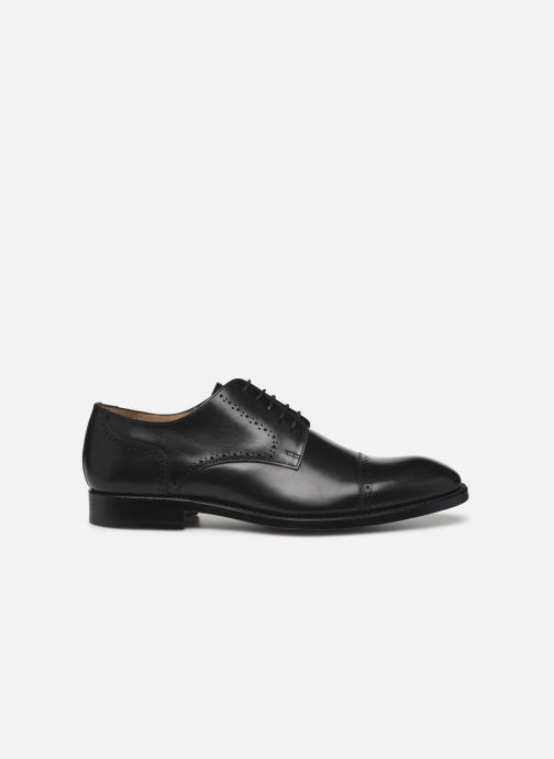 Lace-up shoes Marvin&Co Luxe Cavendy - Cousu Goodyear Black back view