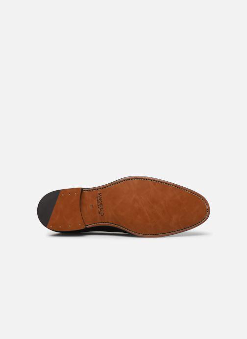 Zapatos con cordones Marvin&Co Luxe Cavendy - Cousu Goodyear Negro vista de arriba