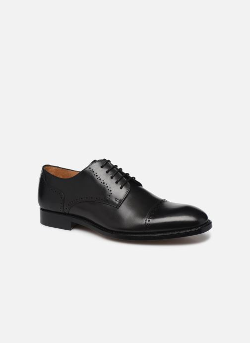 Lace-up shoes Marvin&Co Luxe Cavendy - Cousu Goodyear Black detailed view/ Pair view