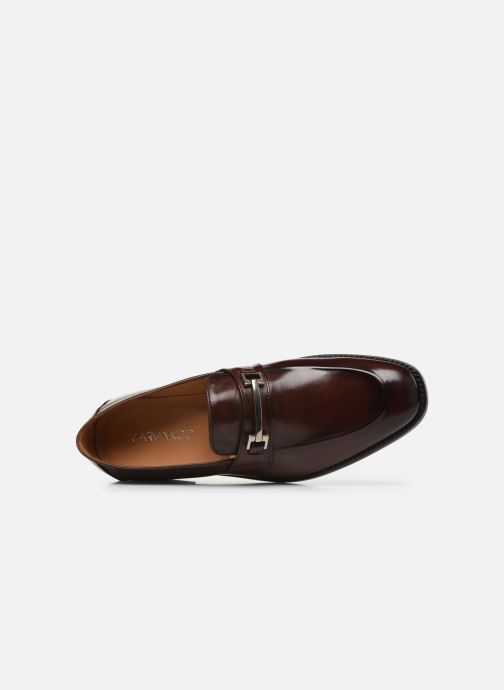 Mocassins Marvin&Co Luxe Cesaria - Cousu Goodyear Marron vue gauche