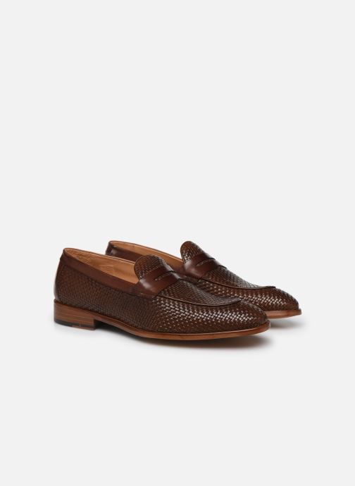 Loafers Marvin&Co Luxe Cleveria - Cousu Blake Brun 3/4 billede