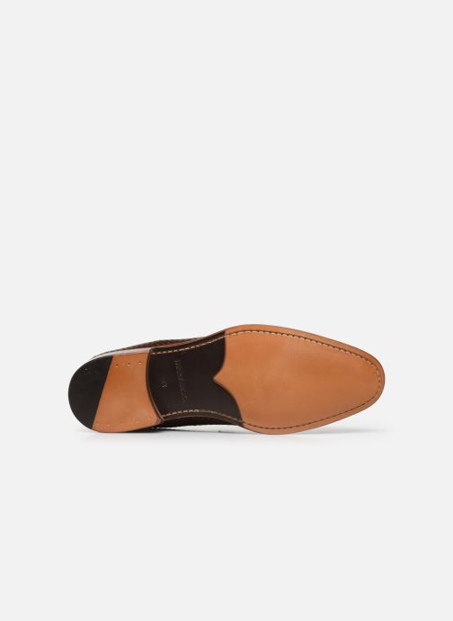 Mocassins Marvin&Co Luxe Cleveria - Cousu Blake Bruin boven