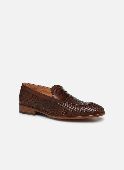Loafers Marvin&Co Luxe Cleveria - Cousu Blake Brun detaljeret billede af skoene