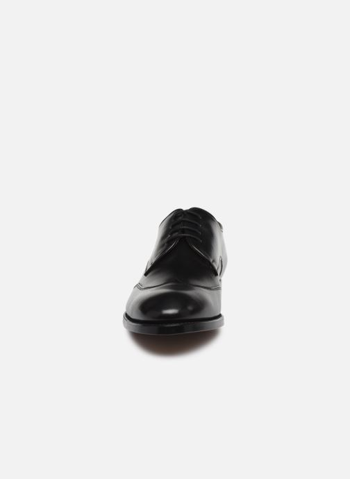 Zapatos con cordones Marvin&Co Luxe Ceventy - Cousu Goodyear Negro vista del modelo