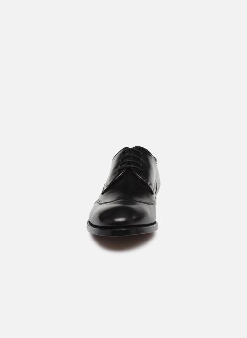 Scarpe con lacci Marvin&Co Luxe Ceventy - Cousu Goodyear Nero modello indossato