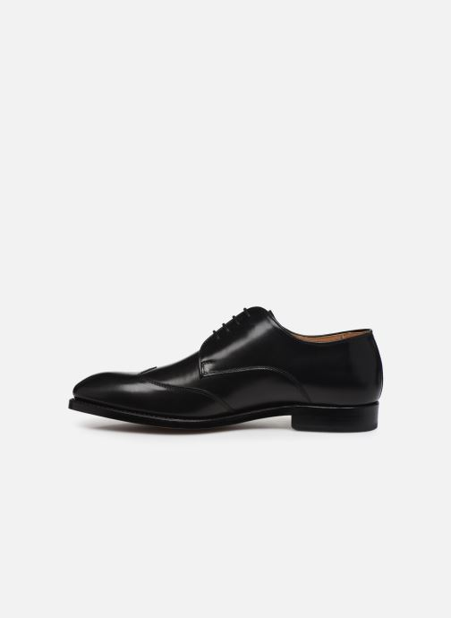 Zapatos con cordones Marvin&Co Luxe Ceventy - Cousu Goodyear Negro vista de frente