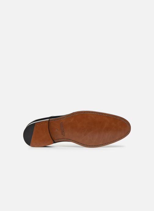 Zapatos con cordones Marvin&Co Luxe Ceventy - Cousu Goodyear Negro vista de arriba