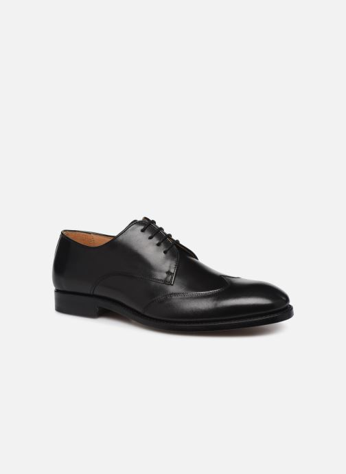 Zapatos con cordones Marvin&Co Luxe Ceventy - Cousu Goodyear Negro vista de detalle / par