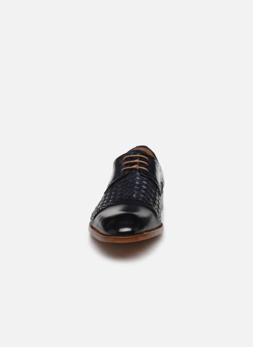 Zapatos con cordones Marvin&Co Luxe Cetresse - Cousu Blake Azul vista del modelo