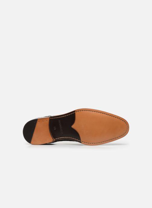 Zapatos con cordones Marvin&Co Luxe Cetresse - Cousu Blake Azul vista de arriba