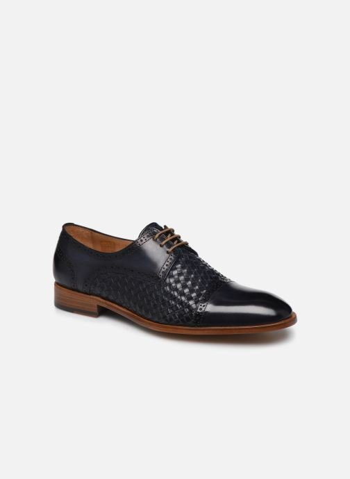 Zapatos con cordones Marvin&Co Luxe Cetresse - Cousu Blake Azul vista de detalle / par