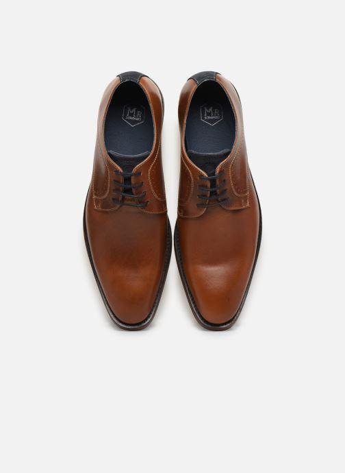 Chaussures à lacets Mr SARENZA Weekers Marron vue portées chaussures