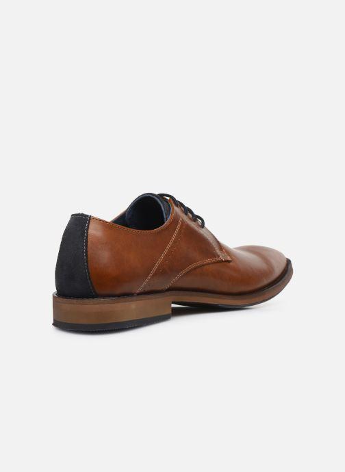 Chaussures à lacets Mr SARENZA Weekers Marron vue face