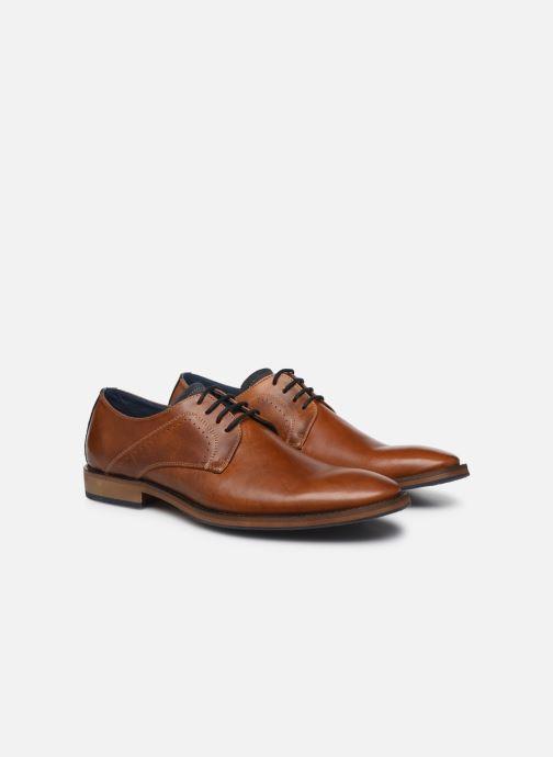 Zapatos con cordones Mr SARENZA Weekers Marrón vistra trasera