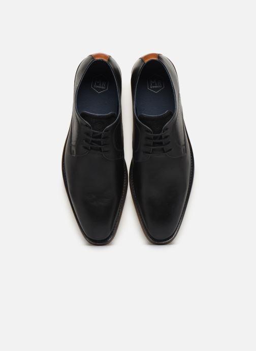 Zapatos con cordones Mr SARENZA Weekers Negro vista del modelo