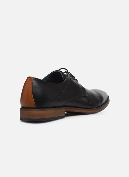 Zapatos con cordones Mr SARENZA Weekers Negro vista de frente