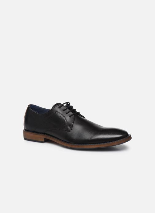 Zapatos con cordones Mr SARENZA Weekers Negro vista lateral derecha