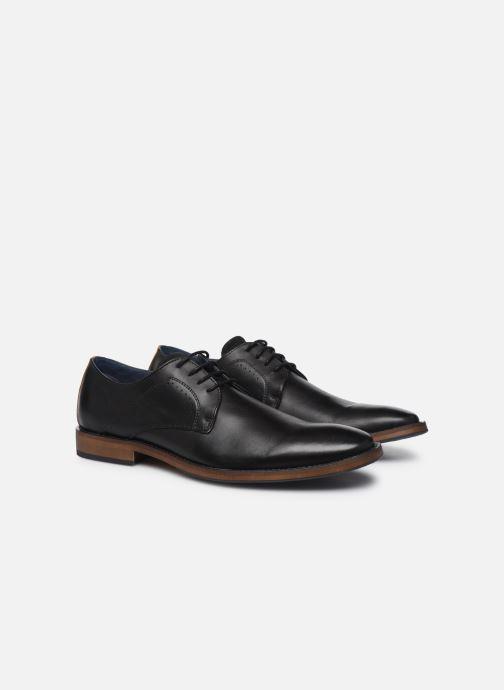 Zapatos con cordones Mr SARENZA Weekers Negro vistra trasera