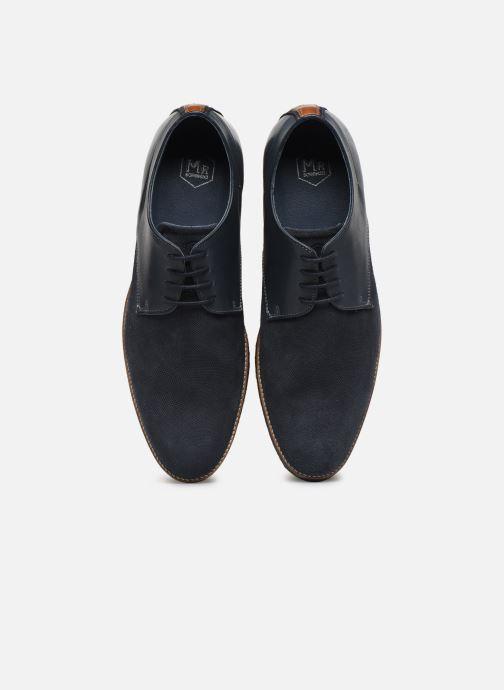Zapatos con cordones Mr SARENZA Wades Azul vista del modelo