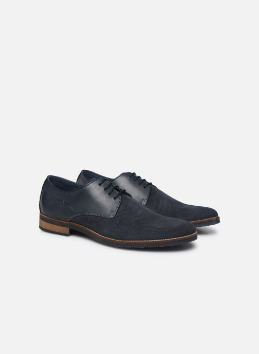 Zapatos con cordones Mr SARENZA Wades Azul vistra trasera