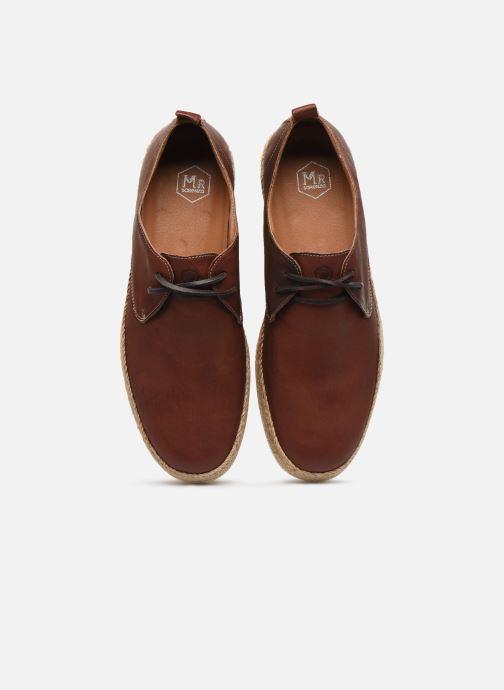 Espadrilles Mr SARENZA Watis Marron vue portées chaussures