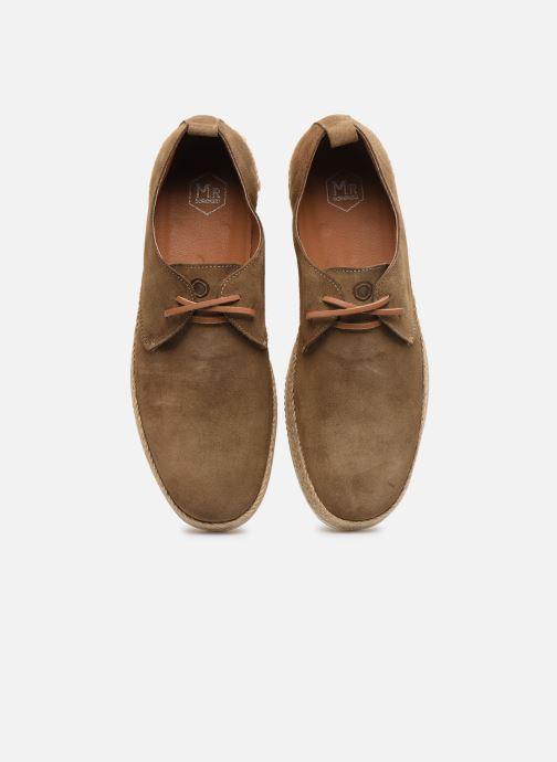 Espadrilles Mr SARENZA Watis Vert vue portées chaussures