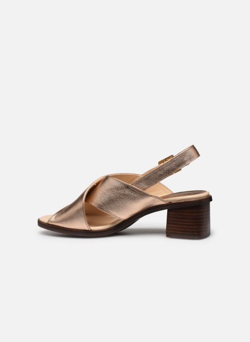 Sandales et nu-pieds Georgia Rose Soft Wivona Rose vue face