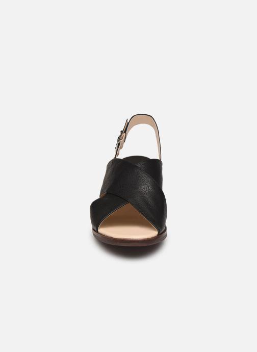 Sandales et nu-pieds Georgia Rose Soft Wivona Noir vue portées chaussures