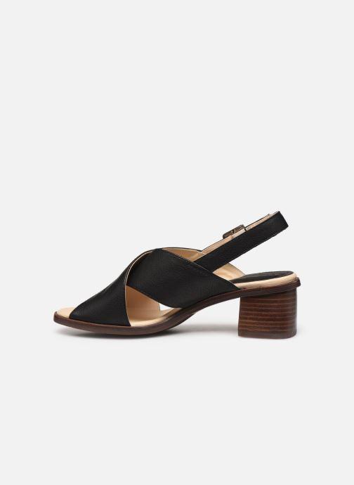 Sandales et nu-pieds Georgia Rose Soft Wivona Noir vue face