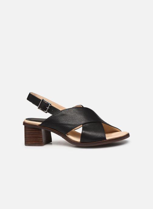 Sandales et nu-pieds Georgia Rose Soft Wivona Noir vue derrière