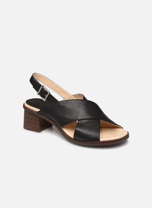 Sandales et nu-pieds Georgia Rose Soft Wivona Noir vue détail/paire