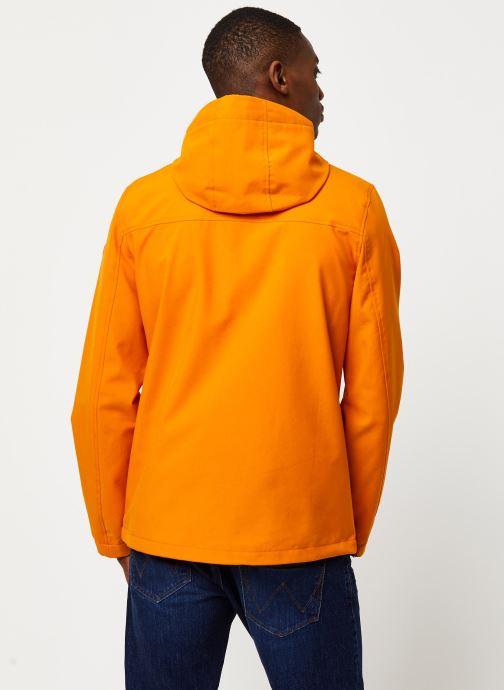 Vêtements Only & Sons Onsemil Windbreaker Orange vue portées chaussures