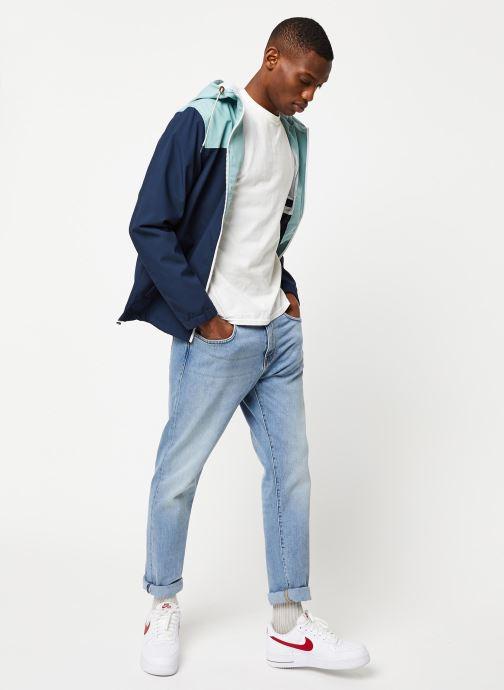 Vêtements Only & Sons Onsemil Windbreaker Bleu vue bas / vue portée sac