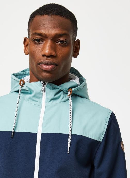 Vêtements Only & Sons Onsemil Windbreaker Bleu vue face