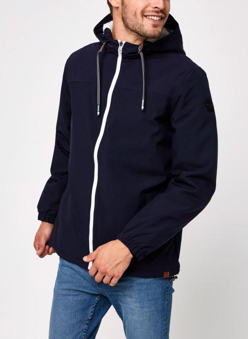 Vêtements Only & Sons Onsemil Windbreaker Bleu vue droite