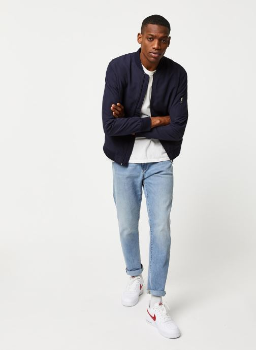 Vêtements Only & Sons Onsjack Bomber Bleu vue bas / vue portée sac