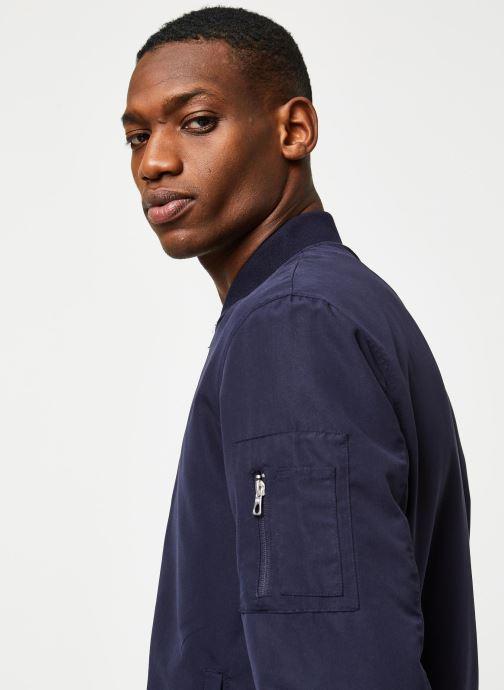 Vêtements Only & Sons Onsjack Bomber Bleu vue face