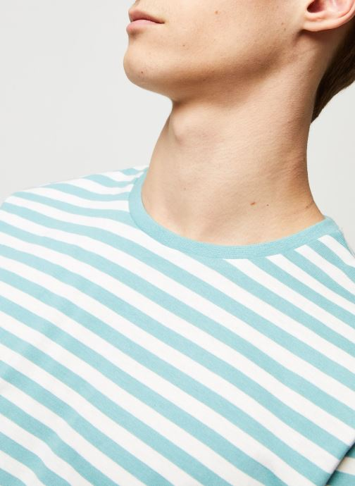 Vêtements Only & Sons Onsjamie SS Regular Tee Bleu vue face