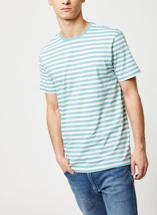 Vêtements Only & Sons Onsjamie SS Regular Tee Bleu vue droite