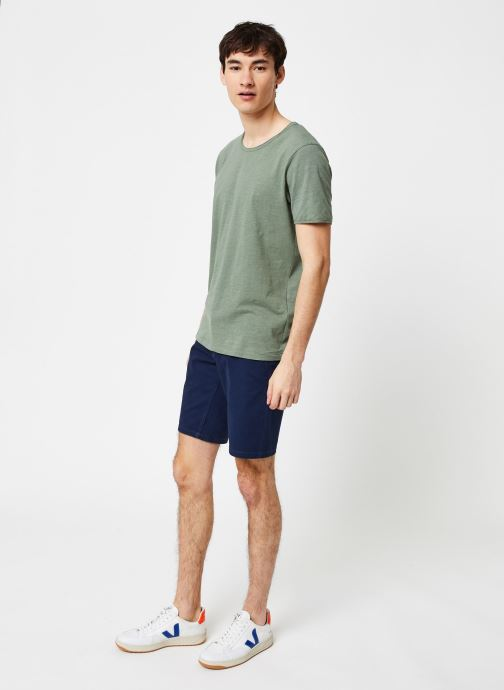 Vêtements Only & Sons Onsholm Chino Shorts Bleu vue bas / vue portée sac