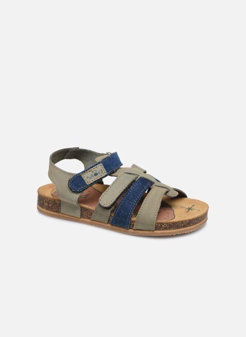 Sandales et nu-pieds Mod8 Styno Vert vue détail/paire