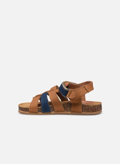 Sandales et nu-pieds Mod8 Styno Marron vue face