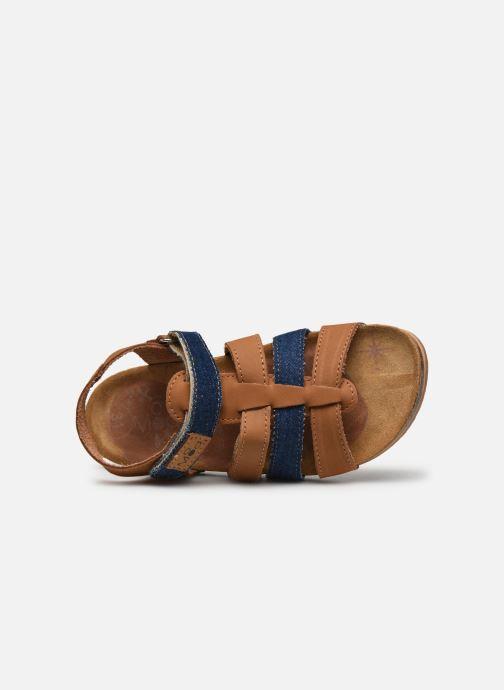 Sandales et nu-pieds Mod8 Styno Marron vue gauche
